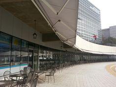 한양대 노천카페 Hanyang University outdoor theater cafe, Seoul, Korea