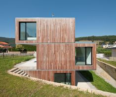 Built by Acha Zaballa Arquitectos in Castro Urdiales, Spain with surface 176.0. Images by Josema Cutillas. The single-family house is located in the residential area of Montealegre, a prominently green rural area that lately...