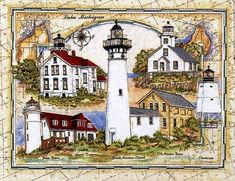 Image result for donna elias lighthouses on chart