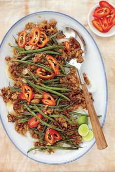Stir-Fry Recipes: Pork-and-Green Bean Stir-Fry