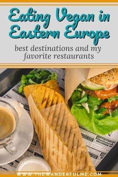 Eastern Europe is a meat and dairy filled region. Here's my drool-worthy guide on eating vegan through Eastern Europe. Delicious Burgers, Delicious Vegan Recipes, Vegan Desserts, Vegetarian Recipes, Vegan Burgers, Eating Vegan, Healthy Eating, Vegan Food, Buenos Aires