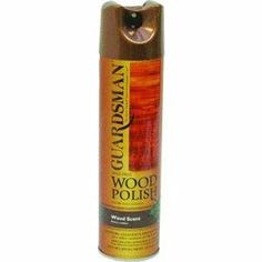 "Guardsman Products Inc 301500 Woodscent Furniture Polish 12.5 Oz by GUARDSMAN PRODUCTS INC. Save 9 Off!. $4.99. ""GUARDSMAN"" FURNITURE POLISH 12.5 OZ   * 12.5 Oz  * Wood scent  * Aerosol spray  * Furniture polish  * Professional formula  * Contains no wax, silicones  * Solvents of abrasives, non toxic  * No wax buildup"