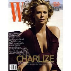 W. Cover June 2008 - MyFDB ❤ liked on Polyvore featuring covers and charlize theron