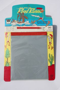 "Magic Slate: These were always fun on long car trips to play ""Hang-Man""."