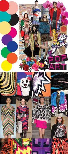 AW13 Pop Art - Fashion Trend Twisted Angle