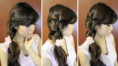 Fancy Loop Ponytail Hairstyle for Medium Long Hair Tutorial – Video Tutorial