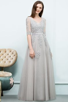Looking for Evening Dresses,Prom Dresses in Tulle, A-line style, and Gorgeous Appliques work? Babyonlinewholesale has all covered on this elegant JORDYNN Cheap Evening Gowns, Affordable Evening Dresses, A Line Evening Dress, Evening Dresses Online, Evening Dresses Plus Size, Dress Online, Gowns Online, Hijab Dress Party, Tulle Prom Dress
