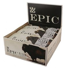 Epic All Natural Meat Bar, 100% Grass Fed, Bison, Bacon and Cranberry, 1.5 ounce bar, 12 count Epic http://www.amazon.com/dp/B00ET7LPK4/ref=cm_sw_r_pi_dp_5O4wvb046AY2F