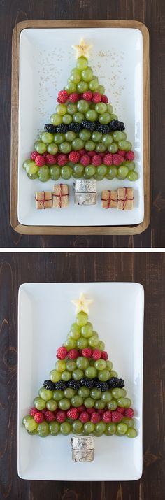 Cute Fruit Tree For Christmas food recipes christmas christmas recipes christmas ideas gluten free christmas food christmas party favors vegetarian ideas for christmas healthy christmas food christmas snacks holiday fingerfoods christmas Christmas Party Food, Christmas Brunch, Xmas Food, Christmas Breakfast, Christmas Cooking, Christmas Goodies, Christmas Holidays, Christmas Apps, Christmas Appetizers