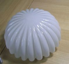Mid Century Shell Wall Ceiling Lamp #AN
