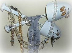 Vintage Shoe Stretchers Upcycle to Jewelry Display