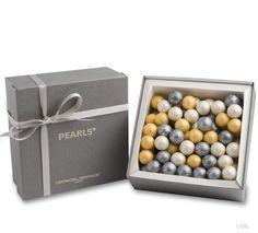 Chocolate Pearls / Artisan Du Chocolat  wow, cool choco