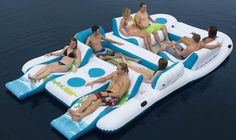 Tropical Tahiti Floating Island Price: $297 | 26 Things Every Lazy Person Needs This Summer