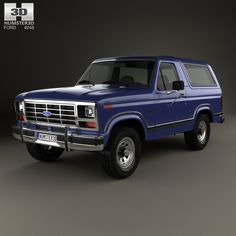 Buy a detailed 3d model of Ford Bronco 1982 in various file formats. All our 3D models were created maximally close to the original.