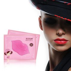 20PCS Pink Lip Care Crystal Collagen Lip Mask Pads Moisturizing Repair Lip Skin Face Care Gel Anti Ageing Wrinkle Exfoliating|c7273714-415b-41ef-86ef-aceeff5f062b|Lip Care