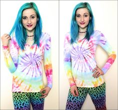 ★ Cheerful Rainbow Colors ★ Cool Alternative Up-cycled Clothing..  Featuring: Trippy Hippie Clothing from: AbiDashery ! Hymiö heart  10% off Promo Code:  VBOL2015  https://www.facebook.com/abidasheryetsy/posts/377664209082776