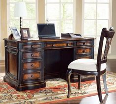 Hooker Furniture Preston Ridge 60 Inch Desk in Cherry/Mahogany Finish Hooker Furniture http://www.amazon.com/dp/B0054UBJV0/ref=cm_sw_r_pi_dp_CYyfub1V09TYH