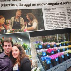 Congratulazioni a Francesca e Harold che hanno aperto un nuovo angolo Fiorito a Trento:)