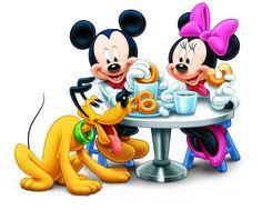 Mickey Mouse & Minnie Birthday Poster created by disney. Walt Disney, Disney Art, Disney Fantasy, Minnie Mouse Pictures, Disney Pictures, Disney Pics, Retro Disney, Disney Love, Disney Stuff