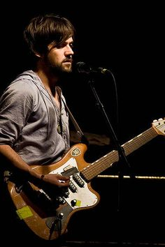 "Conor Oberst...aka ""Bright Eyes""  I may be in love <3"
