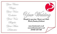 Hearts & Souls Black Country Celebrant: Your Wedding