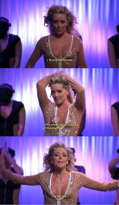 """30 Rock Season 1 Episode """"Everyone knows the most delicious part of the muffin is the top. 30 Rock Quotes, You Funny, Funny Stuff, Random Stuff, Hilarious, Tina Fey, Comedy Show, Orange Is The New Black, Muffin Top"""