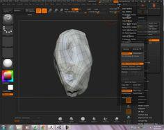 zBrush 4r6 - UV Master / Multimap exporter / Unity import tutorial