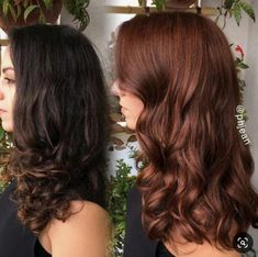 auburn balayage hairstyle in 2019 Light Auburn Hair, Hair Color Auburn, Brown Hair Colors, Brown Auburn Hair, Red Brown Hair, Chocolate Auburn Hair, Copper Brown Hair, Hair Colour, Auburn Balayage