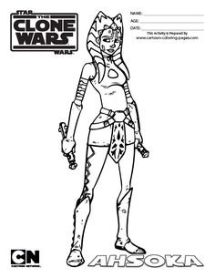 Star Wars Clone Wars Coloring Pages Jedi. star wars princess leia coloring pages  Coloring Pages of Star Wars Black White Top 25 Free Printable Online