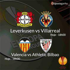 Confere os prognósticos para a Liga Europa...  http://www.apostaganha.com/2016/03/17/prognostico-apostas-valencia-vs-athletic-bilbao-liga-europa-56/  http://www.apostaganha.com/2016/03/17/prognostico-apostas-valencia-vs-athletic-bilbao-liga-europa-34/  http://www.apostaganha.com/2016/03/17/prognostico-apostas-leverkusen-vs-villarreal-liga-europa-2-4444/  http://www.apostaganha.com/2016/03/17/prognostico-apostas-leverkusen-vs-villarreal-liga-europa-2-231/  Quer 100 euros de bonus, streams dos…