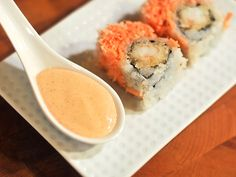 Sauced: Spicy #Mayo for #Sushi. #recipe