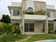 Fachada casa bonita