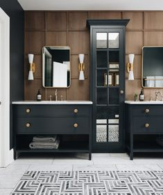 Diy Bathroom, Modern Bathroom, Bathroom Ideas, Master Bathroom, Bathroom Designs, Gold Bathroom, Bathroom Images, Master Bedrooms, Beautiful Bathrooms