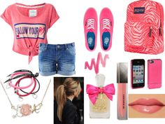 """First Day Of High School"" by larajovero on Polyvore"