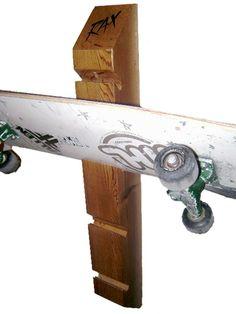 Four Skateboard Display and Storage Rack | Rax - StoreYourBoard.com