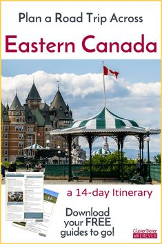Blueprint For a Road Trip Across Eastern Canada - CleverDever Wherever New Travel, Canada Travel, Travel Usa, East Coast Road Trip, Visit Canada, Road Trip Essentials, Prince Edward Island, Vacation Spots, Travel Photos
