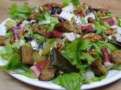 Cuisine en folie: Salade d'automne au magret de canard fumé, aux noi...
