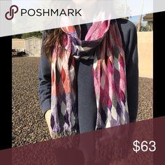 Tolani multicolored scarf Excellent condition Accessories Scarves & Wraps