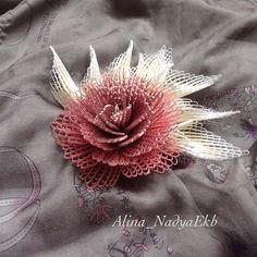 Новый проект. Моя работа... цветы вдохновленный работами японских квиллинг…