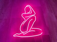 Neon Light Signs, Led Neon Signs, Shape Tattoo, Pub, Room Design Bedroom, Pink Wallpaper Iphone, Club Design, Pretty Wallpapers, Thing 1