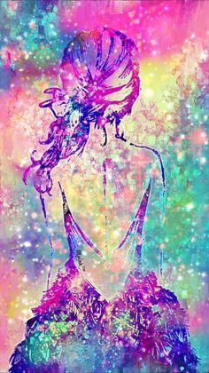 Unicorn purple love pinterest - Galaxy wallpaper for girls ...