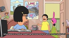 Bob's Burgers / Louise Belcher / Tina Belcher / Gene Belcher / animated