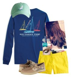 """""""Harbor Fest⛵️"""" by chevron-elephants ❤ liked on Polyvore featuring J.Crew, Bobbi Brown Cosmetics, Essie and Sperry Top-Sider"""