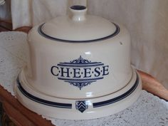 Vintage Cheese Dome
