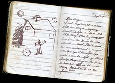 """Diary found in the attic of Farm at Maple Tree Lane: """"August 22, 1941  Dear diary,  I can't sleep tonight, I can still hear everyone arguing downstairs. Grandpa lost his arm today. When they brought him from the barn he was covered in blood. Mother said he was careless and is so upset with grandpa. I know Grandpa would never do anything stupid. Grandpa keeps telling me this place is haunted. Why are there so many accidents on our farm?"""""""