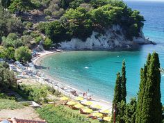 Lemonakia beach, in Samos island