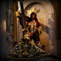Nuestro Padre Jesus Nazareno (Our Father Jesus of Nazarene), Feast Day, January Black Nazarene Philippines, Holy Holy, January 9, Prayer Cards, Religious Icons, Catholic, Roman, Father, Quotes