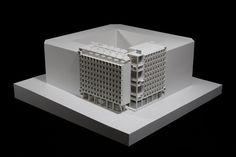 Edificio em Vallecas (Madrid) João Álvaro Rocha, Arquitectos Decorative Boxes, Architecture, Madrid, Sketches, Home Decor, Rock, Spain, Architects, Buildings