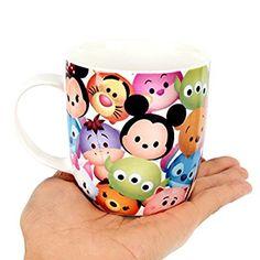 Amazon (ディズニー) Disney ツムツム 子供用 キッズ マグカップ/ 韓国生産 / ディズニー 正品 / Tsum Tsum Mug Cup (Pattern) [並行輸入品] マグカップ オンライン通販