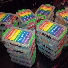 Rainbow party packs